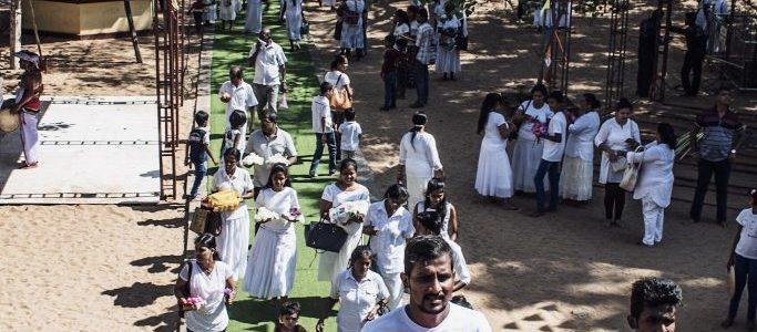 Anuradhapura Sri Lanka Bodhi