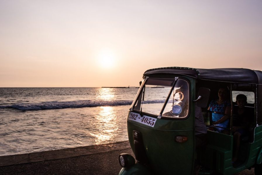 colombo sri lanka beach sunset