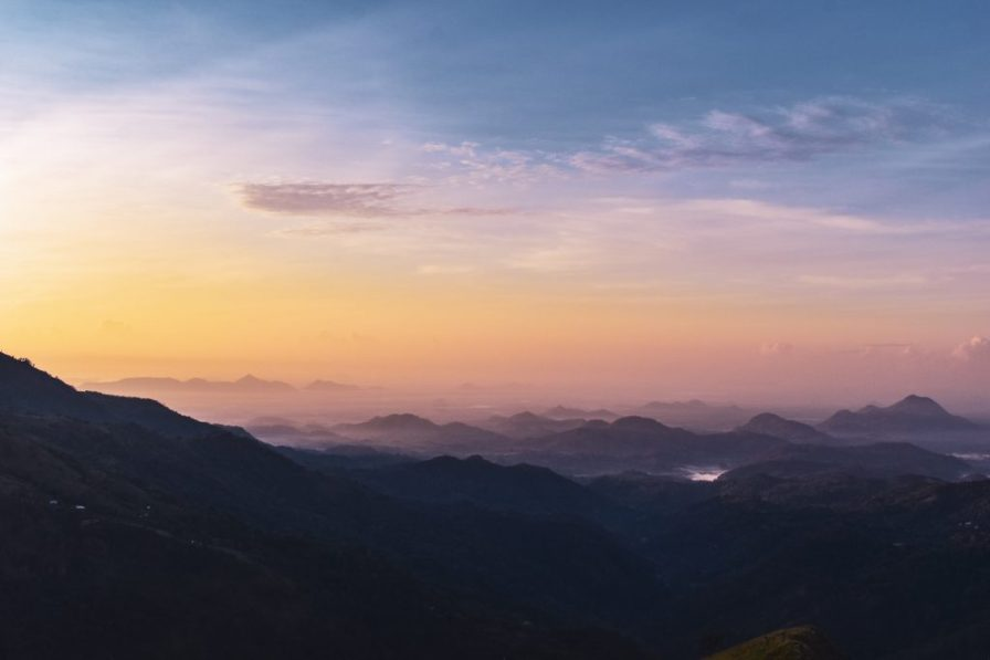 little adams peak sunrise