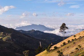 chugchilan ecuador ridge walk