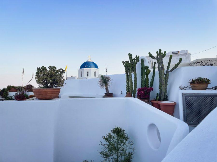 santorini greece sunrise