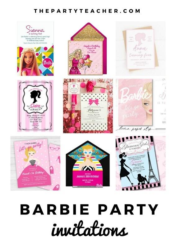 mini party plan barbie party the