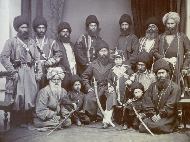 Sher_Ali_Khan_and_company_of_Afghanistan_in_1869