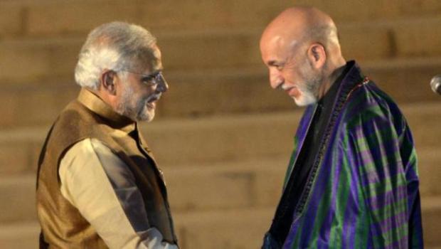 Karzai-supports-Modis-Balochistan-remarks