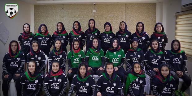 afghan-womens-football-team