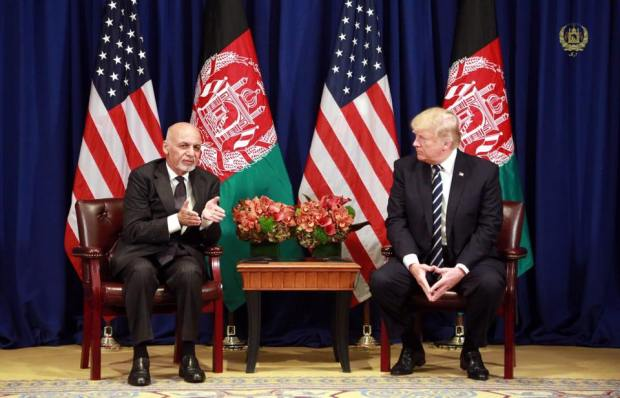 Ghani-and-Trump-meeting