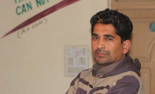 Photo of the deceased principal Sareer Khan