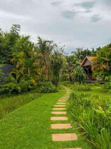 Lush property at Sala Lodges