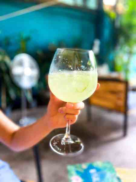 So Fresh! Absinthe cocktail at WILD - Creative Bar & Eatery