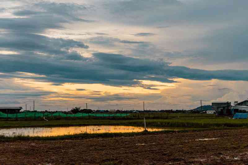 Sunset in the Siem Reap Countryside