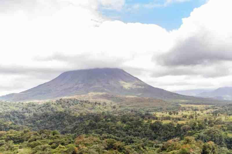 View of Arenal Volcano - La Fortuna, Costa Rica