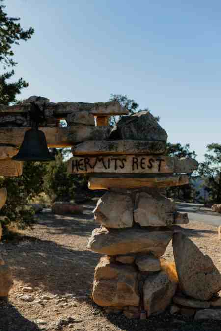 hopi point, south rim trail