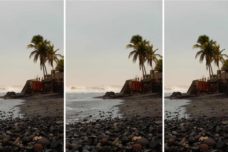 el salvador black sand beaches