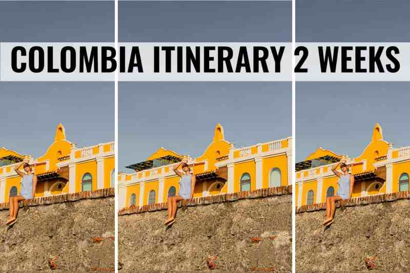 colombia itinerary 2 weeks