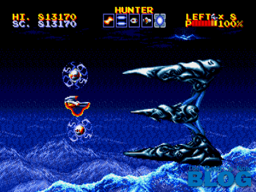 Thunder Force IV Boss The Past is Now Blog, Analisis Ivelias Zero 24