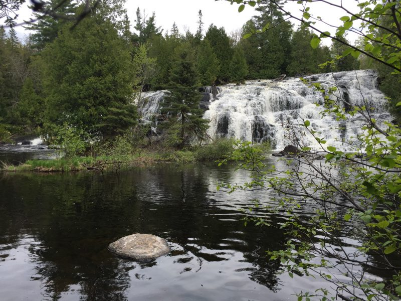 bond falls, ontonagon, pasty trail