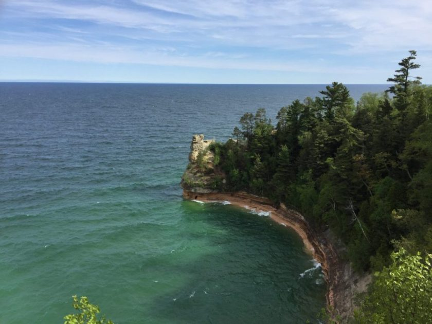pictured rocks, pasty trail, munising