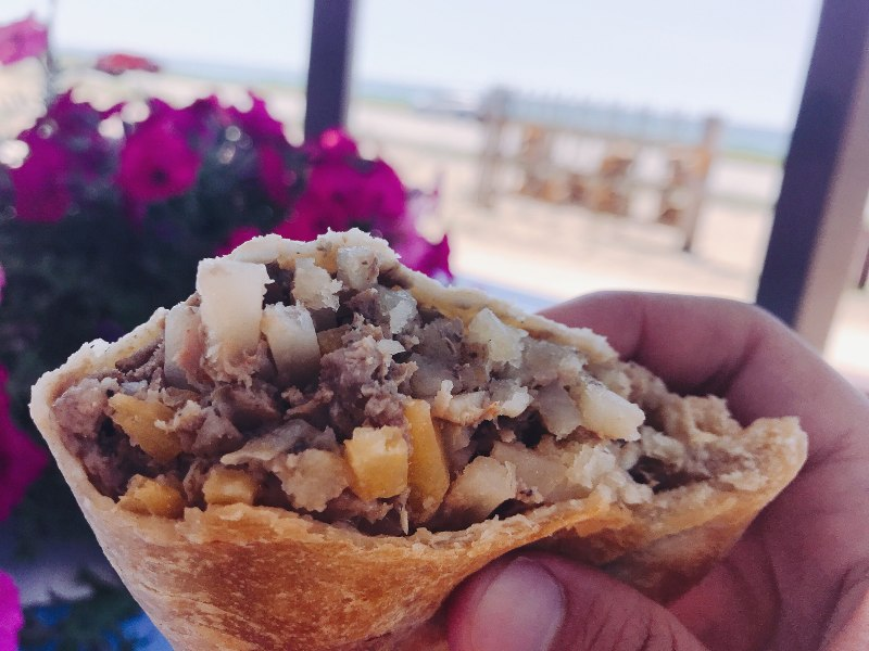 pasty, pasty review, pasties, pasty guy, moran, dune shores resort, pasty trail, moran, st ignace