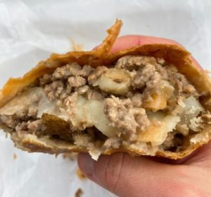 pasty, pasty review, pasties, pasty guy, farwell, kathys pasties