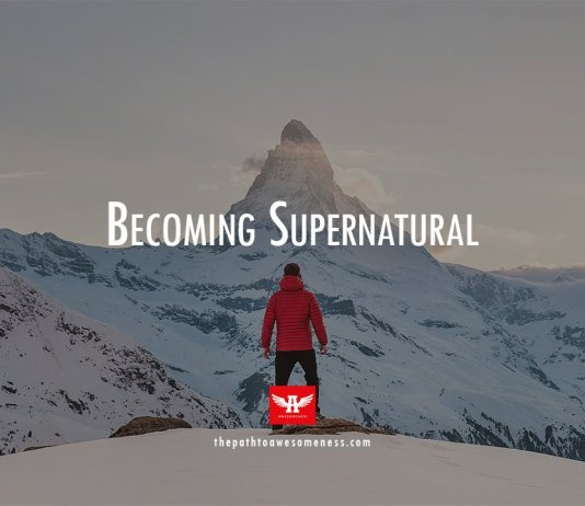 man wearing red jacket facing snow mountain