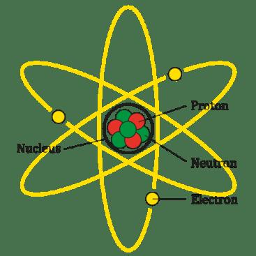 atom neutrons protons electrons
