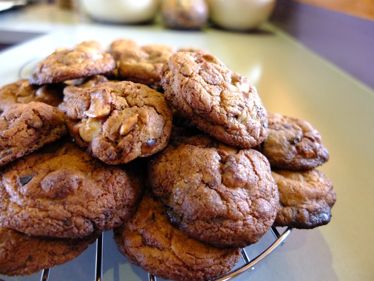 Macademia and Chocolate Chip Cookies