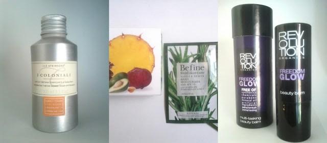 Birchbox: BeFine, i coloniali, revolution organics
