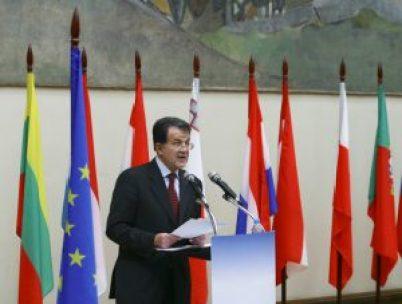 Romano Prodi - President of the Council of Ministers (Prime Minister) of Italy /Copyright: Vasily Smirnov Editorial Credit: Vasily Smirnov /Shutterstock.com