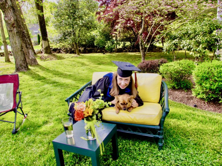 Margert Valenti, Gettysburg College's virtual commencement,  May 17th, 2020