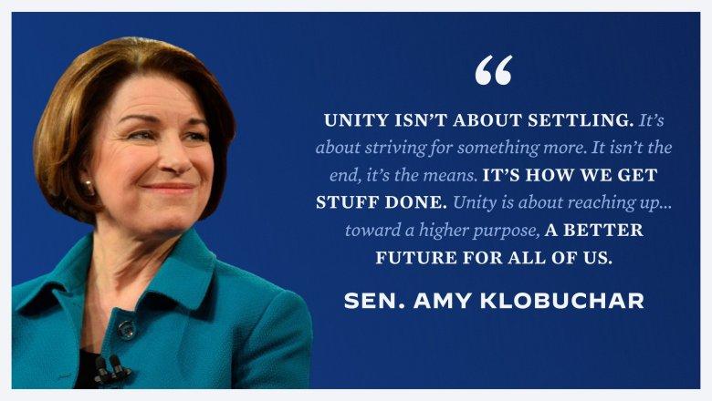 Amy Klobuchar, DNC