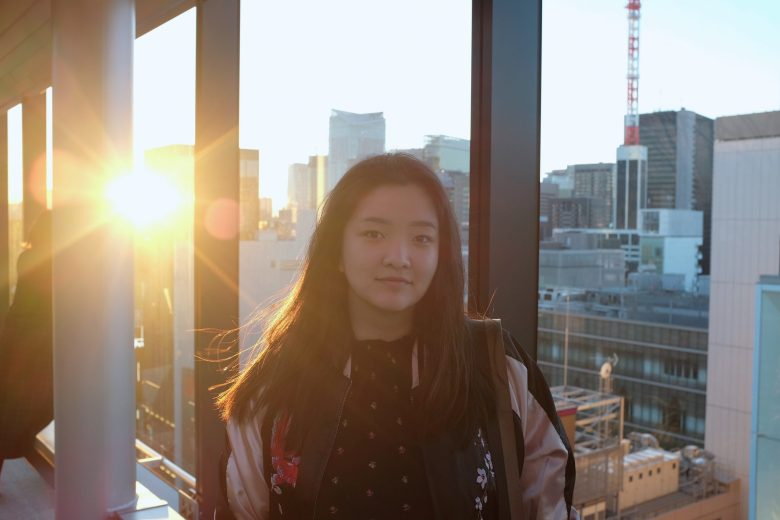 Vivian Zhou, student at Columbia University