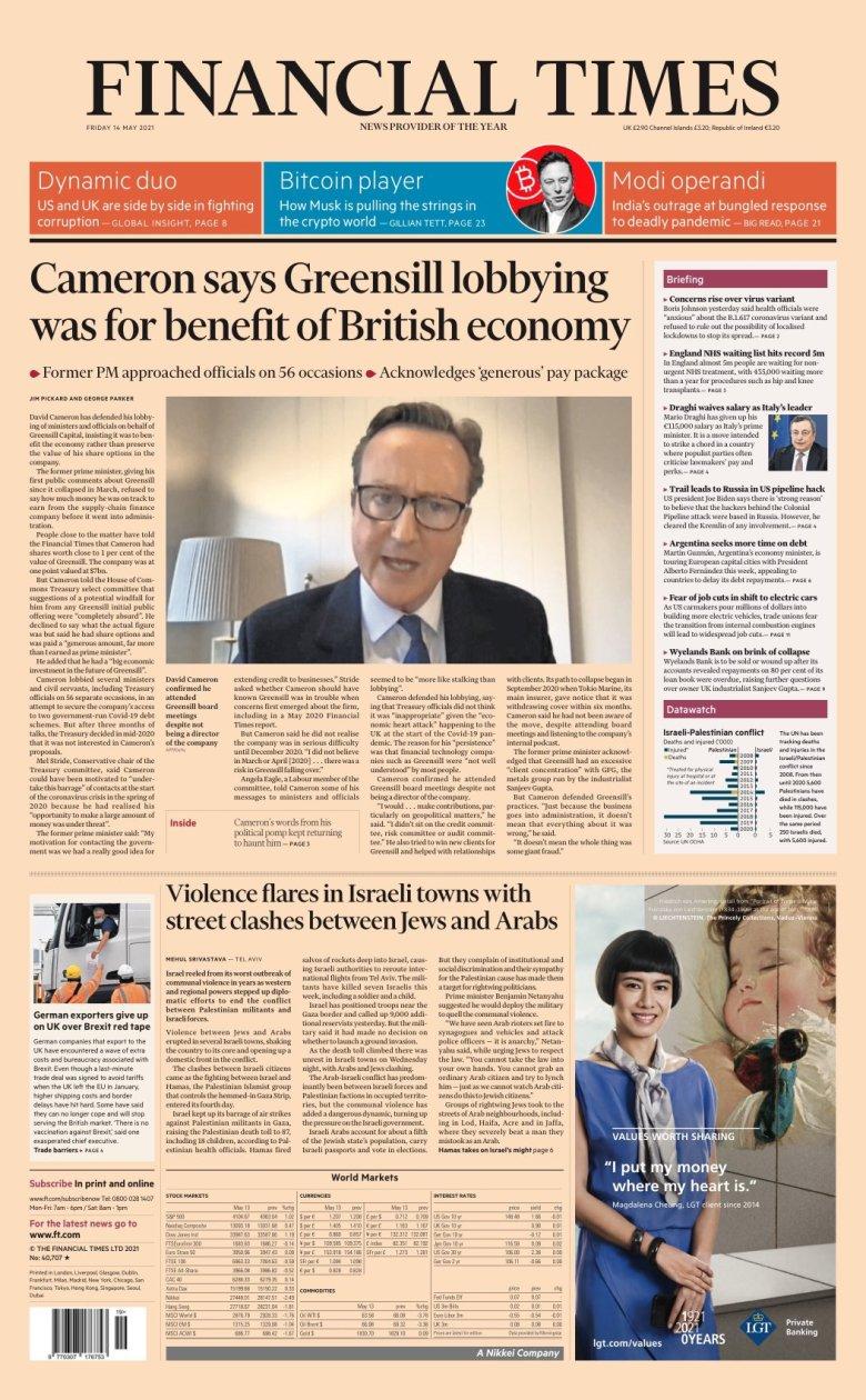 Financial Times May 14, 2021