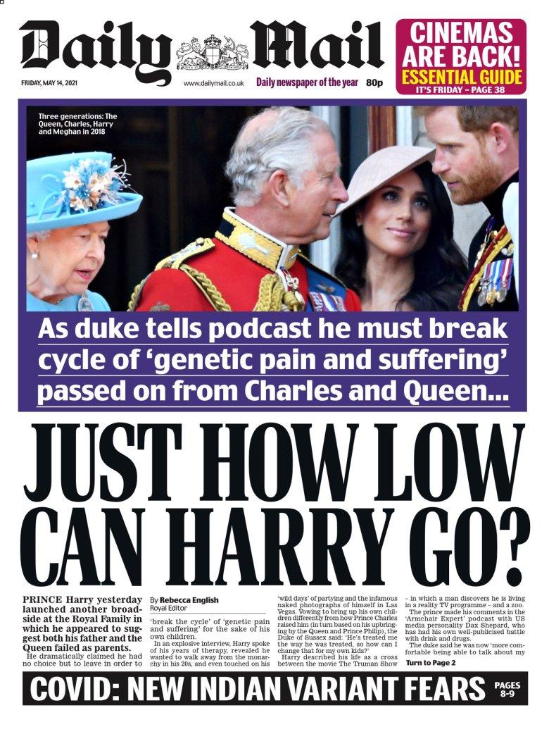 Daily Mail  May 14, 2021