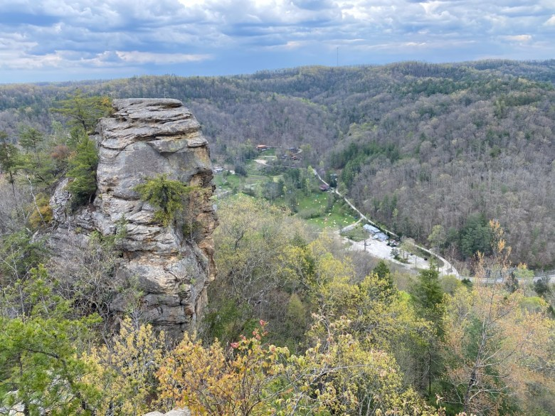 The top of Red River Gorge National Park in Louisville, Ky. (Photo credit: Hannah Walker)