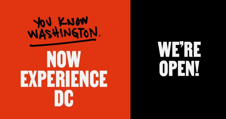 Experience DC campaign