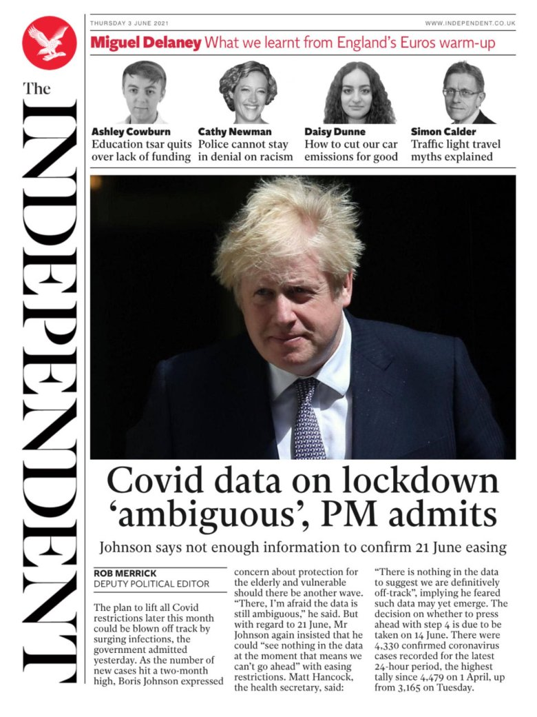 Thursday's Independent