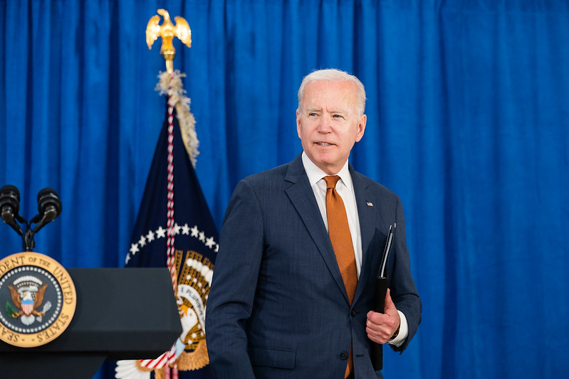 POTUS Joe Biden Photo by Adam Schultz