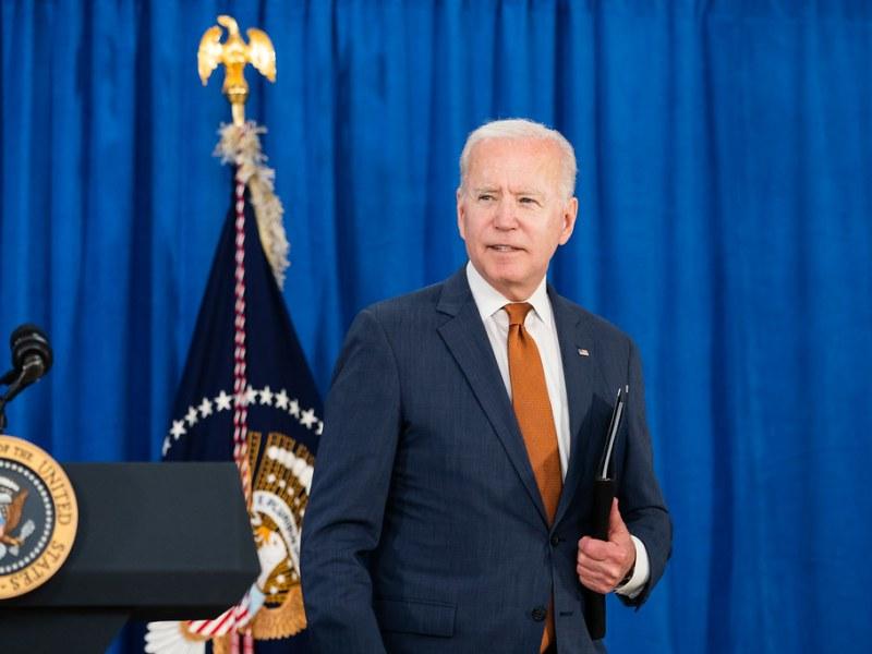 President Joe Biden ( Photo by Adam Schultz)