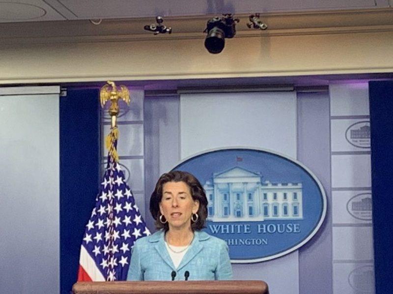 Gina Raimondo Talks New Economic Development Initiative