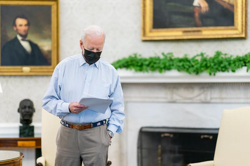 Joe Biden ( Photo by Cameron Smith)