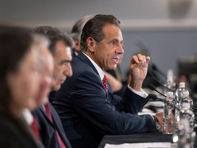 Andrew Cuomo reigns as New York Governor,