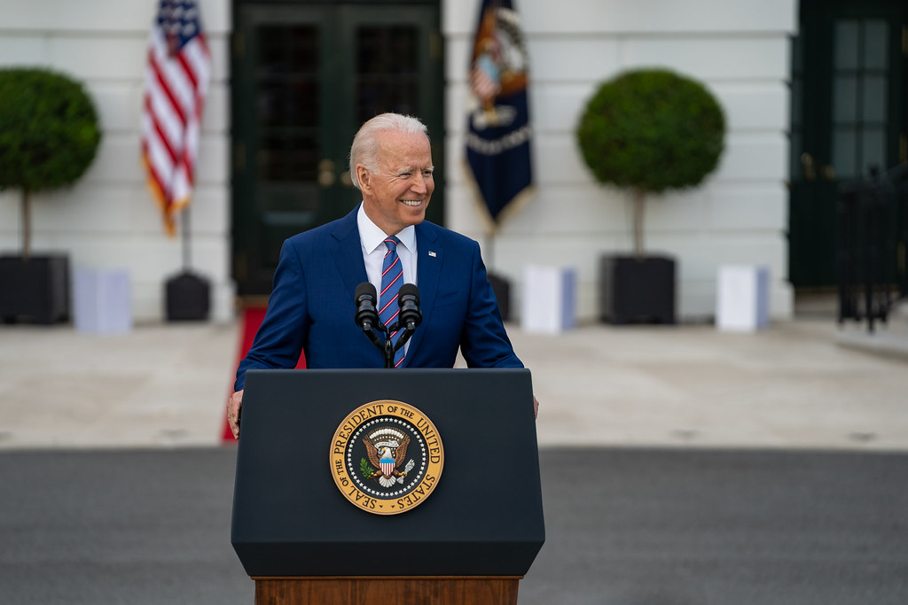 Joe Biden Photo by Katie Ricks