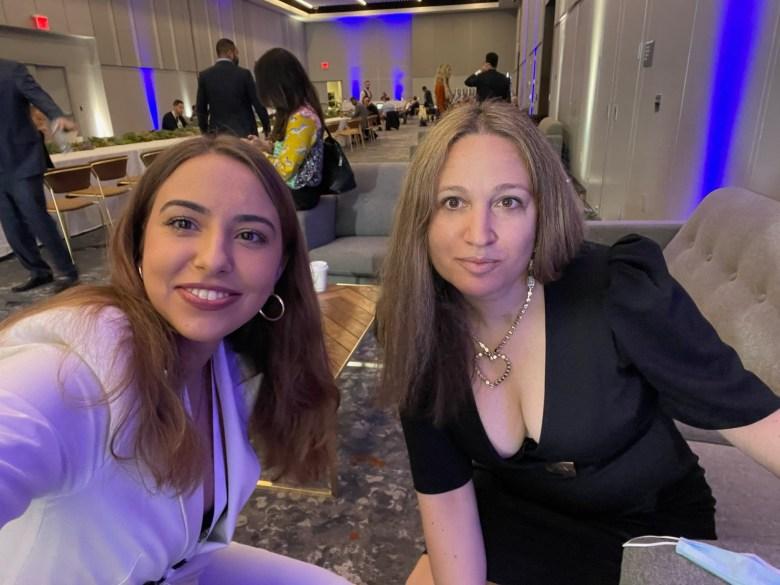 The Pavlovic Today interview: Dina Radenkovic with Ksenija Pavlovic Mcateer White House Correspondent , Founder of The Pavlovic Today in the green room at SALT NY