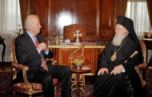 President Biden meets with His All-Holiness Ecumenical Patriarch Bartholomew and the official delegation of the Orthodox Christian Church.