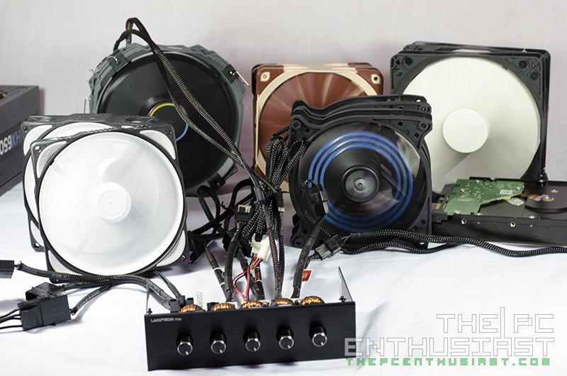 525 Computer Fan Controllers