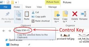 Control Key option