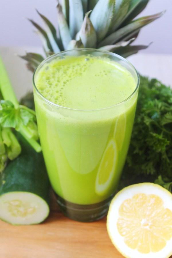 Pineapple Celery Green Juice