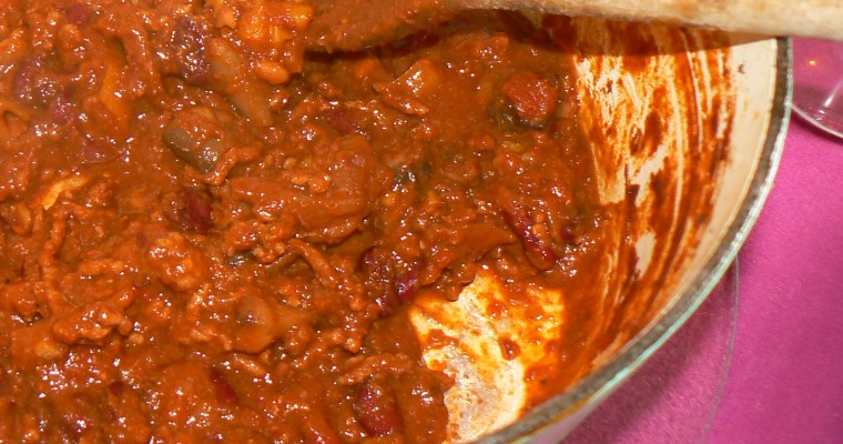 Guest Post: Daddy Peacock's Chunky Chilli