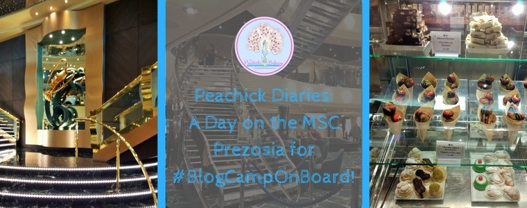 #BlogCampOnBoard With MSC Cruises & Foodies100