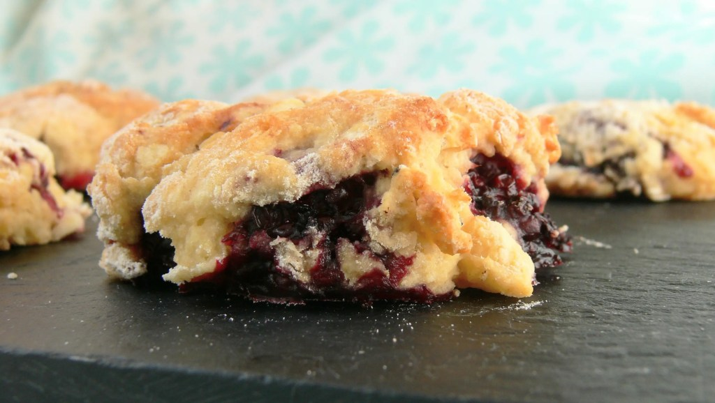 Looking for something different for a special afternoon tea? Then these Vegan Blackberry White Chocolate Scones are just what you need! Soft dairy free scones filled with pockets of sticky, jammy blackberries and sweet vegan white chocolate chips. Bowl to Baked in half an hour and sure to impress all your guests. Serve warm as part of an elegant vegan afternoon tea. Really easy to make to suit any dietary needs. #dairyfree #eggfree #veganbaking #veganafternoontea #veganscones #dairyfreescones #allotmentlife #blackberryrecipes #boysenberries